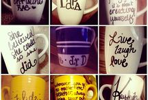 Mugs / Mugs sharpie