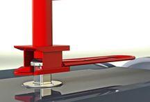 Urban bin containers Design attrezzature Easy / Aggancio manuale idraulico; Aggancio semi automatico