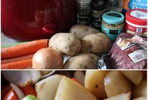Crock Pot Cook Book / by Marrisa Miller