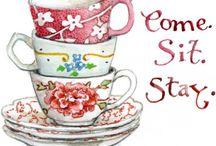 Artwork for tea- lovers