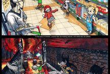Drawings, comics etc.