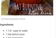 fat burning drinks detox