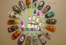 Halloween nails / Nail art and designs for Halloween