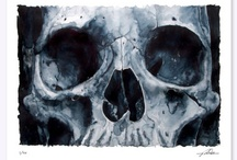 obsessed with skulls! / by Victoria Scarfield