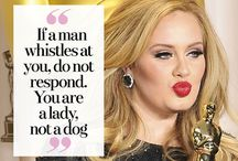 I love Adele and Im sure she loves me