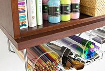 Craft Room Ideas / A place to keep ideas for my dream craft room - storage, organization, decor