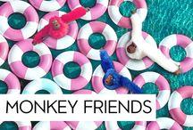 #MonkeyFriends / ¡Nuestros changuitos siempre disfrutan la vida! #MonkeyFriends
