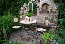 Garten l Sitzplätze / Gemütliche Plätze im Garten