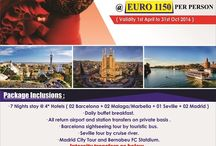 Spanish Splendours / WOW presents 7N/8D Spain package @ just EURO 1150 Per Person. Book Now!!