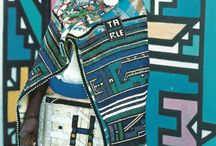 Ndebele Art / Collection of inspiring images of Ndebele art. Great for using in art lessons on geometry and colour.