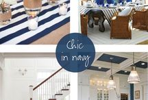 Navy / nautical / hamptons design