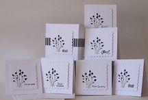 Cards -Mini & 3x3 Ideas