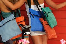 Bags / Bags which are perfect for travel. Beach bags, totes, shoppers and ipad cases. #bags #beachbags #bag