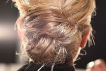 Hairstyles / by Brittany Fox