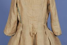 18th century jackets and short gowns