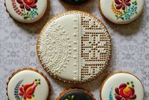 Embroidery Design Cookies
