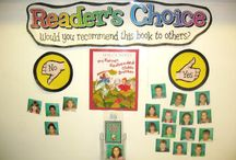 Bulletin Boards/Reading/Literature / by Linda's Links
