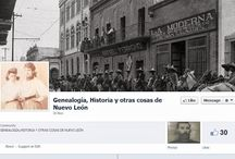Mexican Genealogy Facebook Pages
