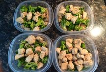 Prep Prep. / Healthy lunch and dinner meal prep.