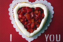 Valentine's Day Cheesecake / Cheesecake do Dia dos Namorados  |  Valentine's Day Cheesecake