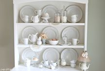 Styling / Inspiration for styling shelves, furniture, and booths.