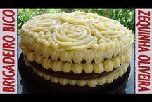 Cobertura para bolo e recheios