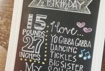 1/2 birthday / Jackson 1/2 birthday