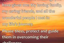 Prayers for Blessing / Prayers for Blessing