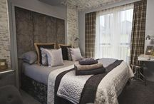 Beautiful bedrooms / Bedrooms in which to get the best night's sleep! Beautifully styled for the ultimate in relaxation on your cottage holiday #travel #holiday #cottage #UK
