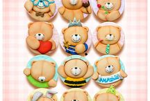 forever friends bears clay
