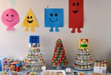 Mr maker shapes birthday for the boy