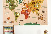 Kid's decor from around the world
