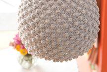 crochet lampeskærm