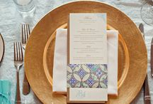 Alexa's Wedding Style / Midnight blue and gold, classical elegance