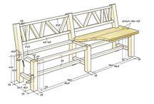 Holzbank selber machen