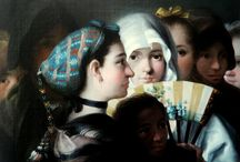 Goyescas / Paintings from Goya and other 18th Century painters.