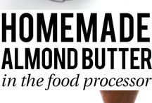 Almond butter and other nuts