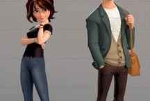 Personajes Animación 3D