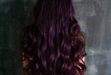 Plum hair colour