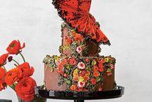 Detailed Gorgeous Wedding Cakes