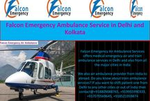Falcon Emergency Air and Train Ambulance Services in Delhi / Hey Guys, Looking best medical emergency transfer services for your patient? Falcon Emergency air and train ambulance services offering air ambulance services in Delhi and all major city in India to transfer the ill patient from one city to another. We are emergency air and train ambulance provider from various cities. If you want to transfer your patient then we provide you low cost air and train ambulance services. Visit Website:-http://www.falconemergency.com/