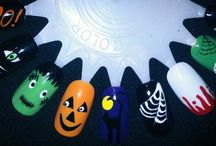 Halloween Nail Art / Pinning all the Halloween themed nail that I have done over the years.