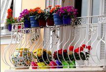 Decora tu pequeño balcón o terraza para este verano / Decora y sácale el máximo partido a tu balcón o terraza