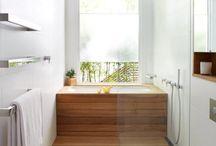 banheira com janela