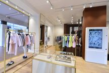 PINKO stores / Pinko has a global network of unique and distinctive flagship stores. The clothes are also sold at major independent boutiques where the brand always fits in beautifuly with top designer labels.