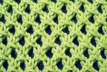 Knit stitches and references