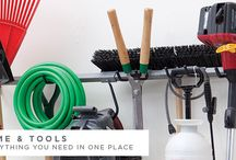 Yard Tool Storage Ideas / We're giving more effective storage ideas to gardeners.  / by Monkey Bar Storage