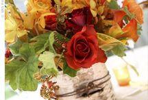aranjament toamna nunta