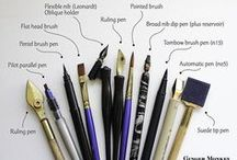 kalligrafie materialen
