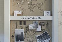 Travel wall ideas / by Maria Dias Krentzman